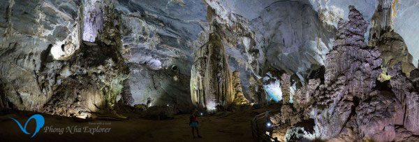 Phong Nha Cave: More space under art lens
