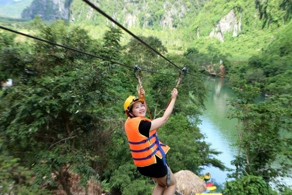Zip-Line Chay River Dark Cave