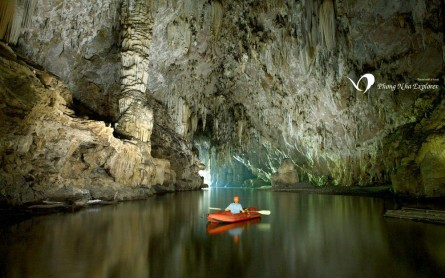 Kayaking in Phong Nha National Park