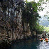 Travel Phong Nha Cave Chay River Dark Cave Tour E