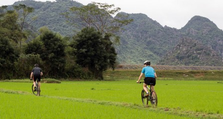 Phong Nha Ke Bang National Park Cycling and Dark Cave Tour