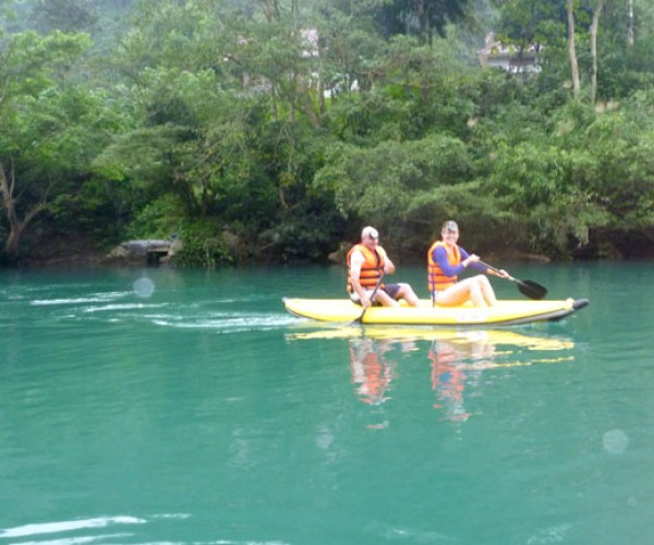Travel Phong Nha Cave Chay River Dark Cave Tour A
