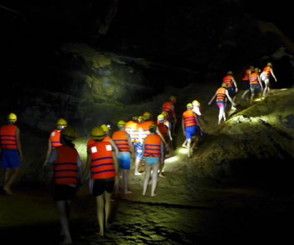 Travel Phong Nha Cave Chay River Dark Cave Tour B