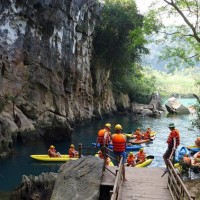 Song Chay Hang Toi Chay River Dark Cave 26