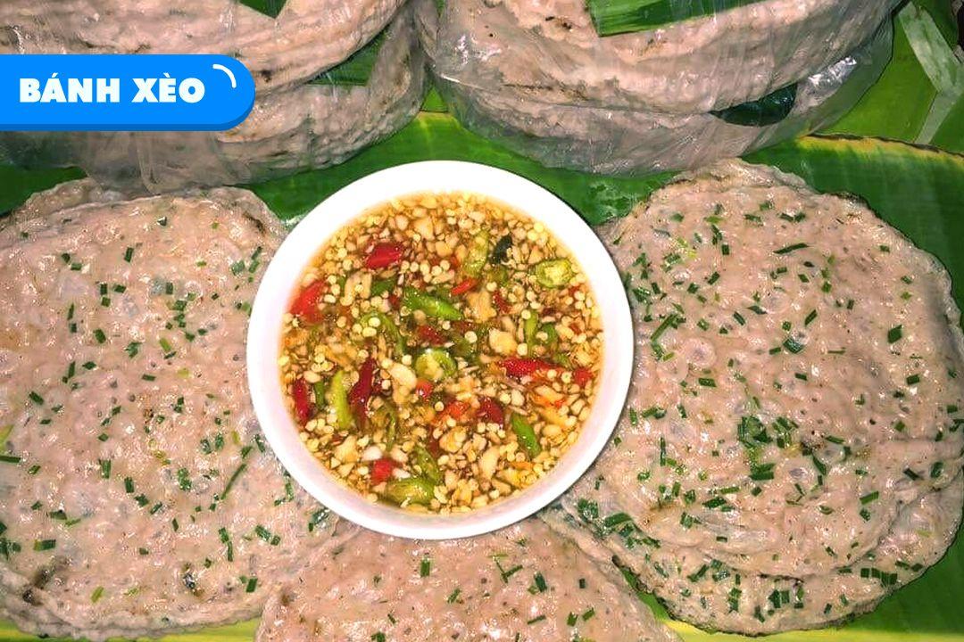 Đặc sản bánh xèo Quảng Bình