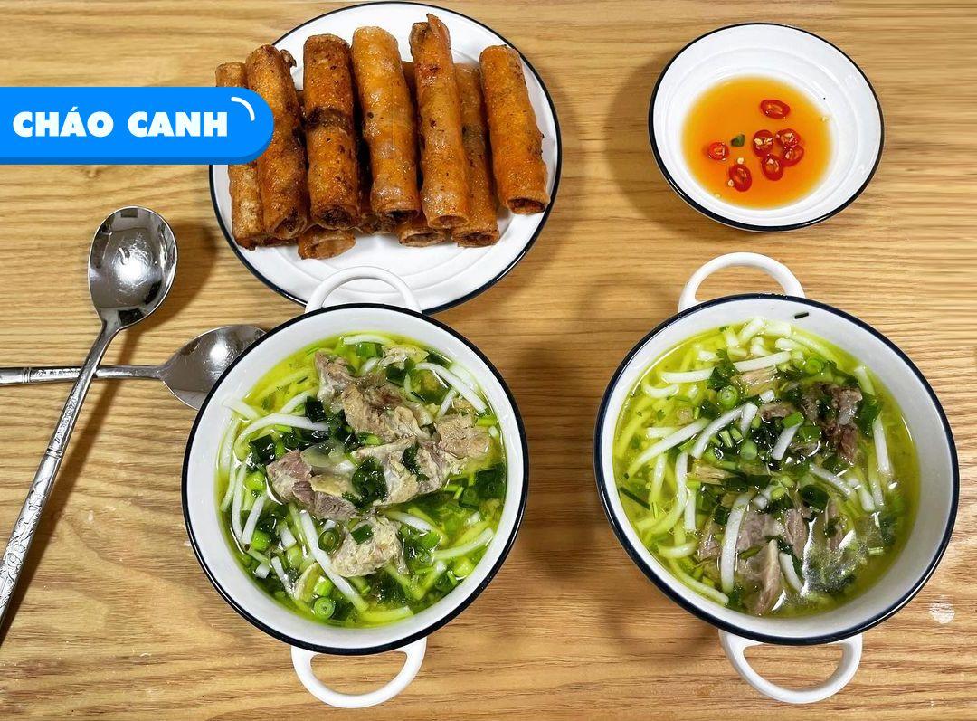 Cháo Bánh Canh đặc sản Quảng Bình