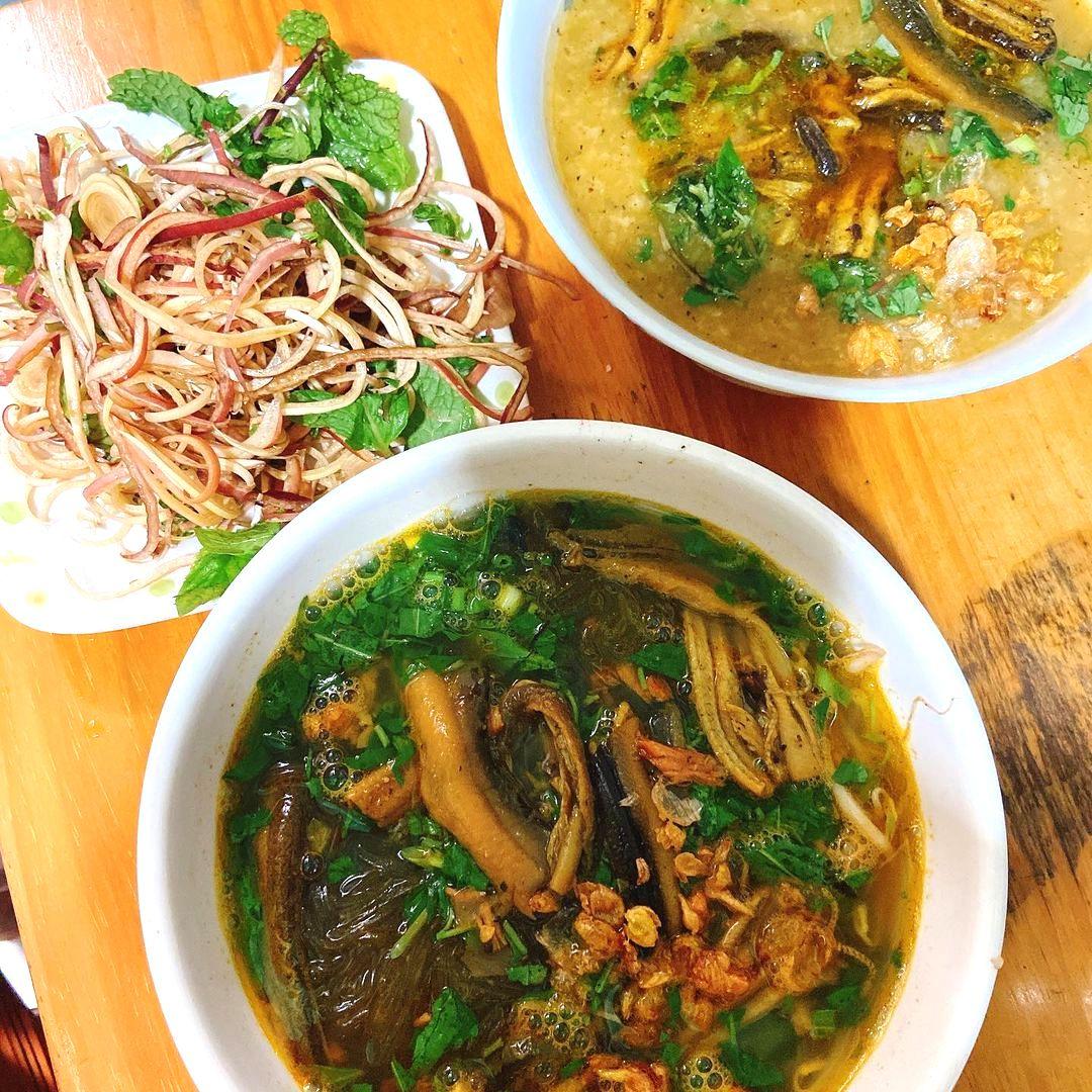 Cháo Lươn và Miến Lươn đồng ở Quảng Bình