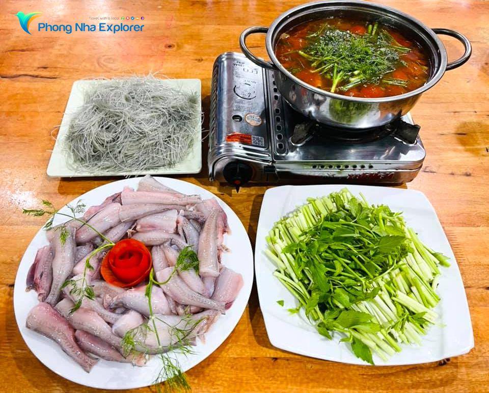 Lẩu cá Khoai Quảng Bình ăn ở đâu