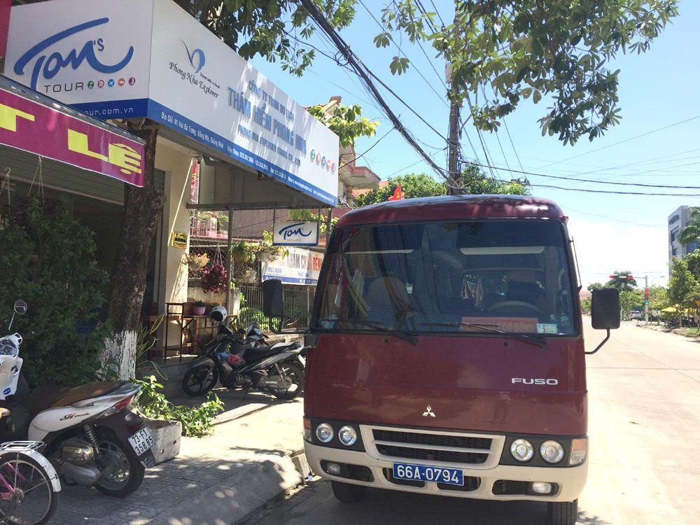 Cho Thuê Xe 29 Chỗ Tại Quảng Bình