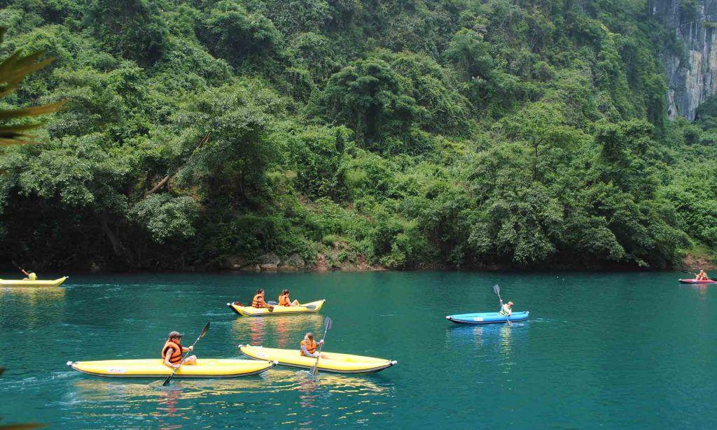 Sông Chày Hang Tối điểm du lịch sinh thái mạo hiểm cực hấp dẫn