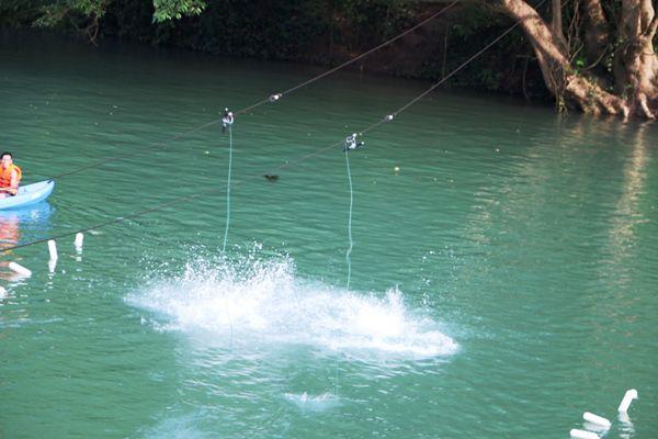 Chìm vào làn nước mát lạnh của Sông Chày